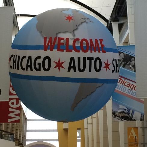 Auto Show Chicago 2014