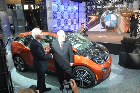 BMW i3 2015 Green Car of the Year Winner