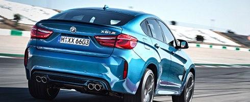 BMW X6M 2015 en el Circuito de las Américas, Austin. Texas