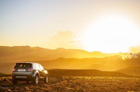 Land Rover Discovery Sports, debut extremo en Islandia