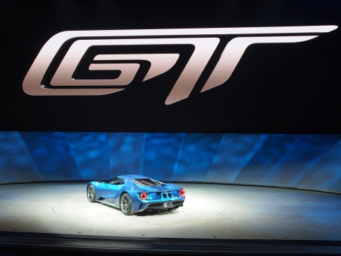 Ford GT en el Auto Show Detroit 2015
