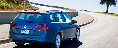 Volkswagen Golf Sportswagen 2015